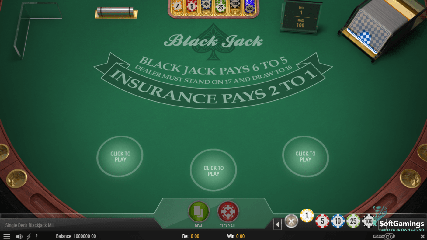 Play blackjack on your smartphone